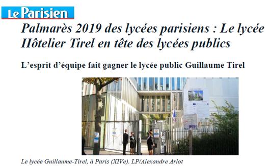 article le parisien
